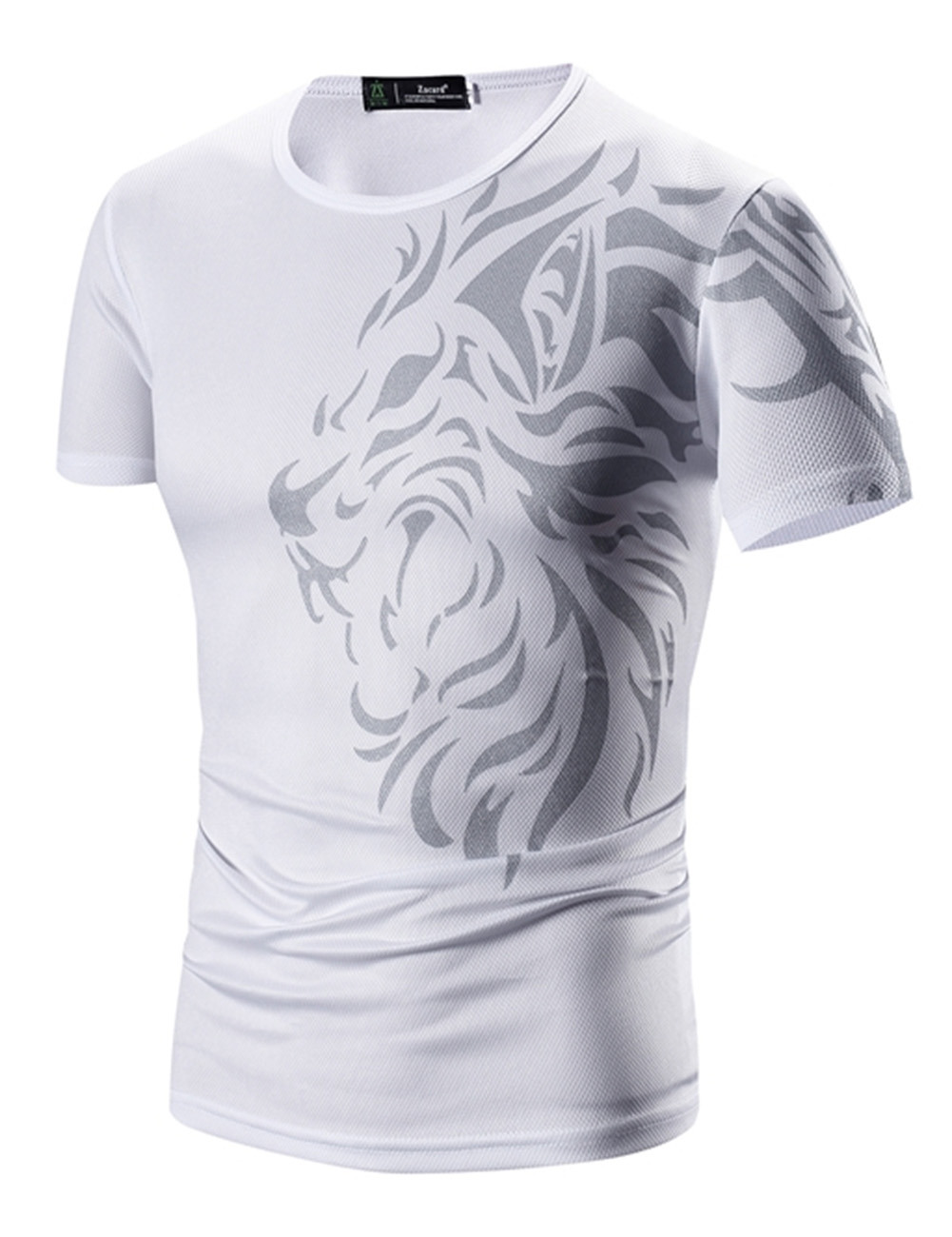 Men Sports Leisure Printing T-Shirts