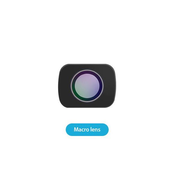 Camera Lens Wide-angle Fisheye Macro Lens for DJI OMSO Pocket Camera Vertical Magnetic Lens Accessory Osmo macro lens