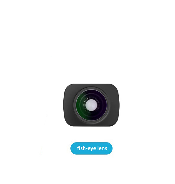 Camera Lens Wide-angle Fisheye Macro Lens for DJI OMSO Pocket Camera Vertical Magnetic Lens Accessory Osmo fisheye lens