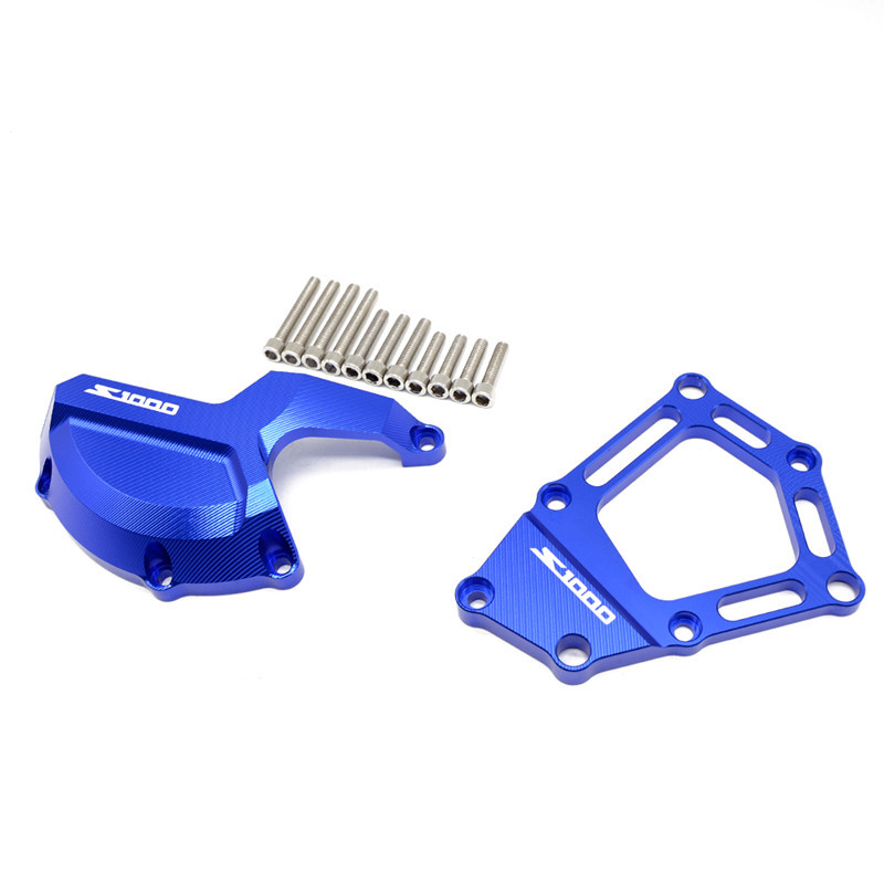 For BMW S1000RR S1000R HP4 Engine Guard Stator Cover Case Motorcycle Accessories blue