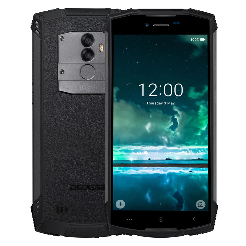 Doogee S55 Rugged Android Phone (Black)