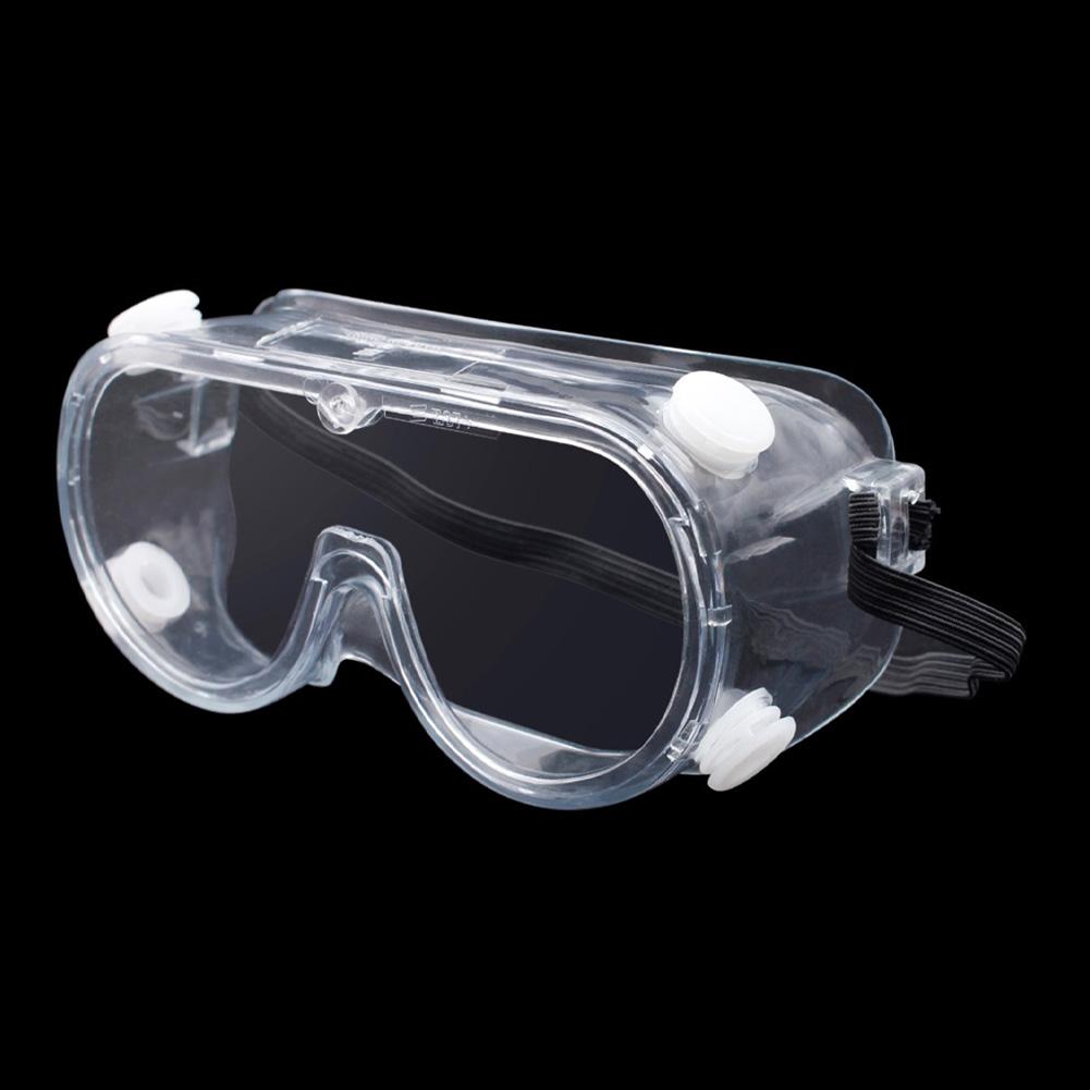 Transparent Safety Goggles Anti-spit Ski Goggles Men Women Snowboard Goggles Glasses Snow Rainning Protection Skiing Eyewear Anti-fog Ski Mask