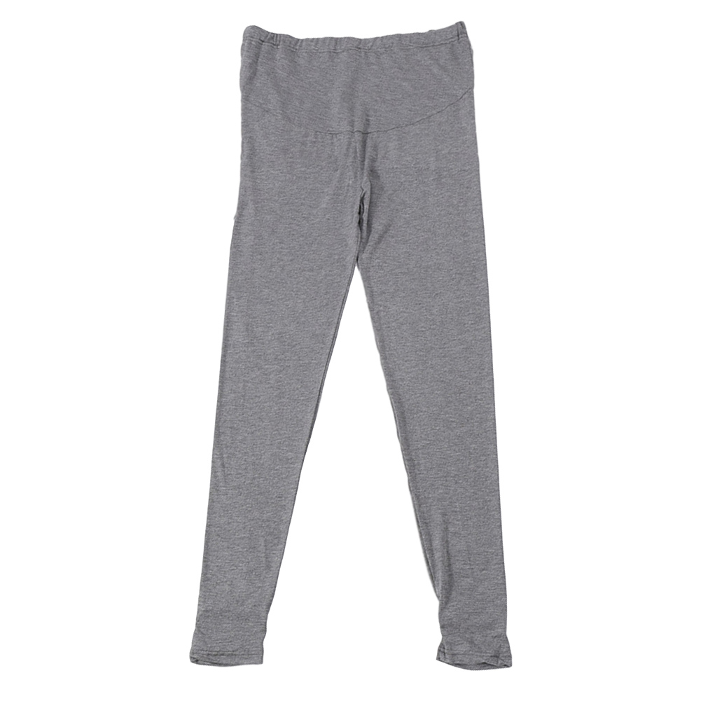 Pregnant Pants Spring Summer Autumn Outerwear Thin Style Modal Loose Casual Foot Trousers Dark gray_L
