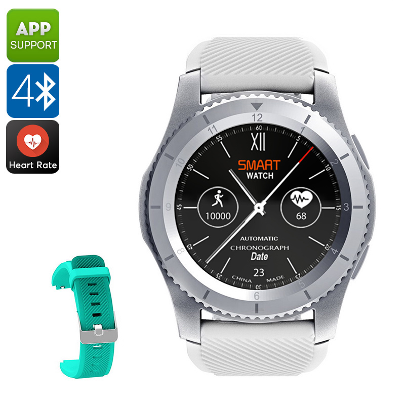 NO.1 G8 Phone Watch (White)