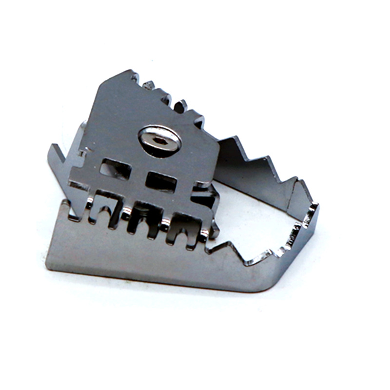 For BMW F700GS F800GS R1200GS Rear Foot Brake Lever Pedal Enlarge Extension Rear Brake Peg Pad Silver