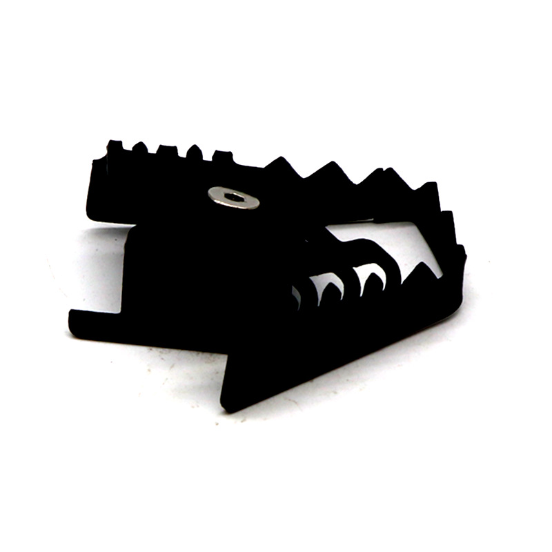 For BMW F700GS F800GS R1200GS Rear Foot Brake Lever Pedal Enlarge Extension Rear Brake Peg Pad black