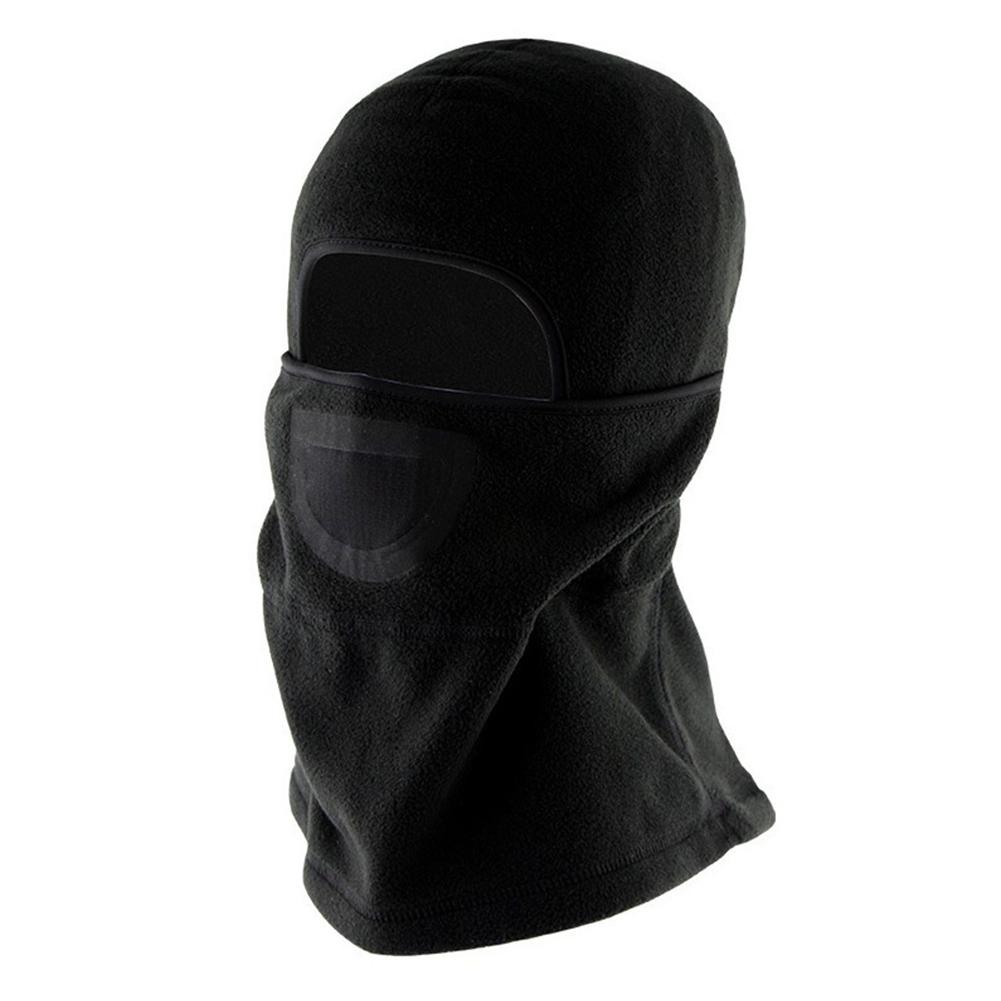 Winter Cycling Mask Windproof Coldproof Face Guard Outdoor Sports Equipment Mask FM02 black