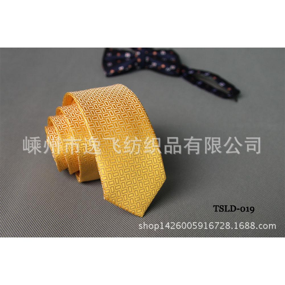 5cm Skinny Tie Classic Silk Solid Dot Narrow Slim Necktie Accessories Wedding Banquet Host Photo TSLD-019