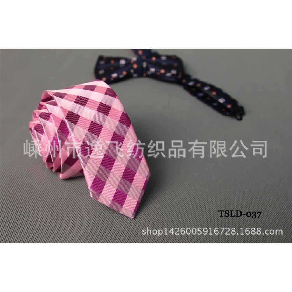 5cm Skinny Tie Classic Silk Solid Dot Narrow Slim Necktie Accessories Wedding Banquet Host Photo TSLD-037
