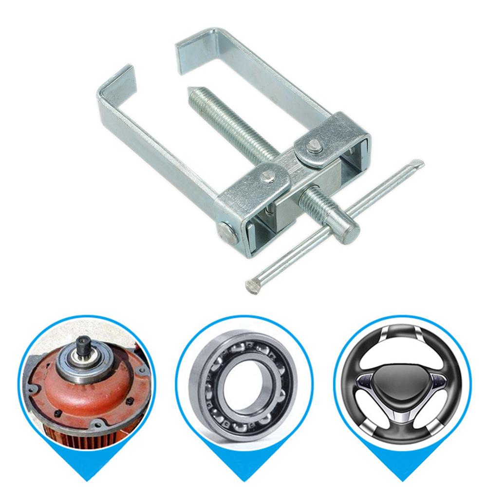 Two Jaw Twin Legs Bearing Gear Puller Remover Hand Tool Removal Kit Bearing Puller Splitter Tool for Wheel Hub Gear Pinion