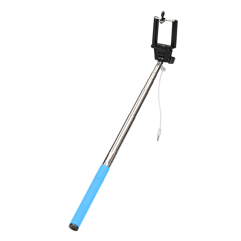 Mini Folding Selfie Photo Stick (Blue)