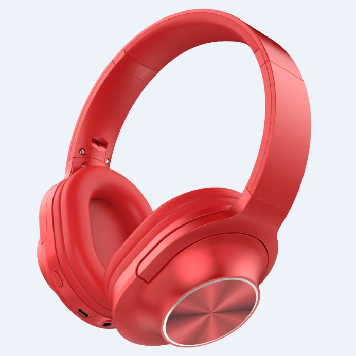 3700A Wireless Bluetooth headset Microphone Game Foldable Double Bass Stereo Headset red