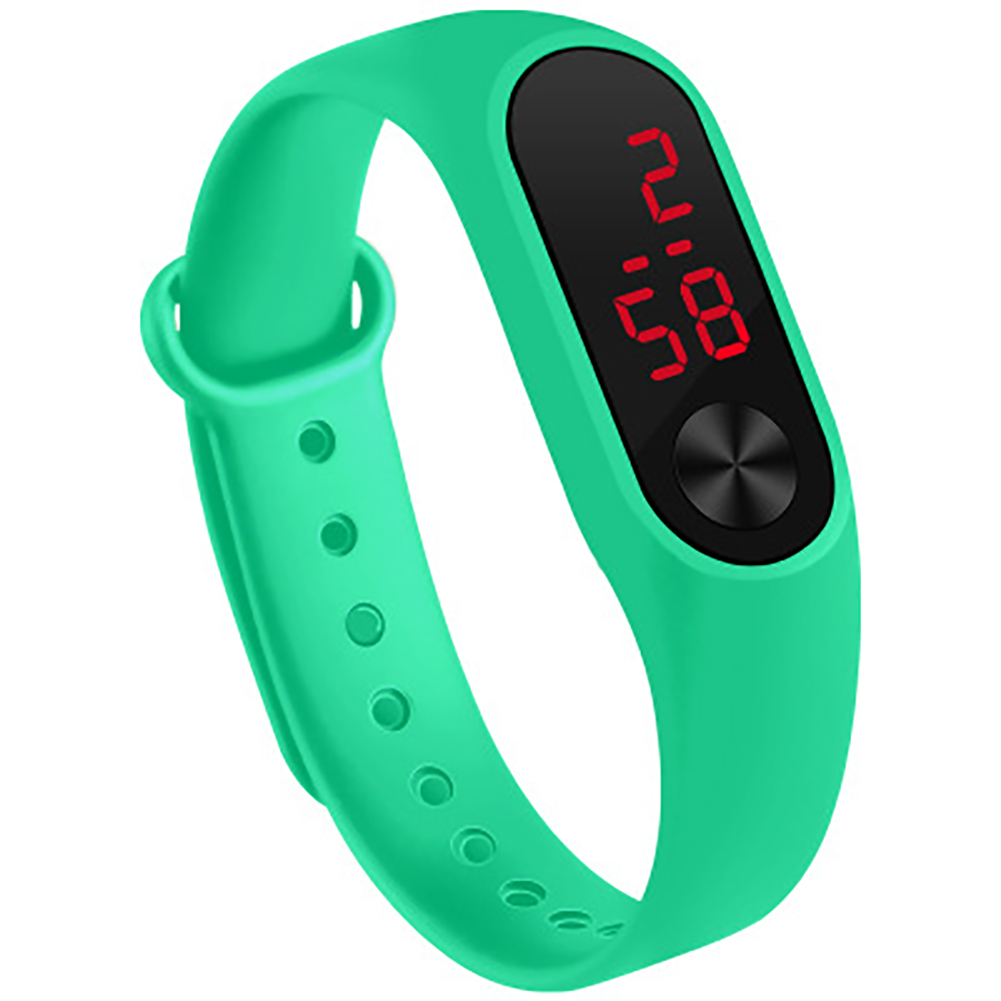 LED Simple Watch Hand Ring Watch Led Sports Fashion Electronic Watch mint