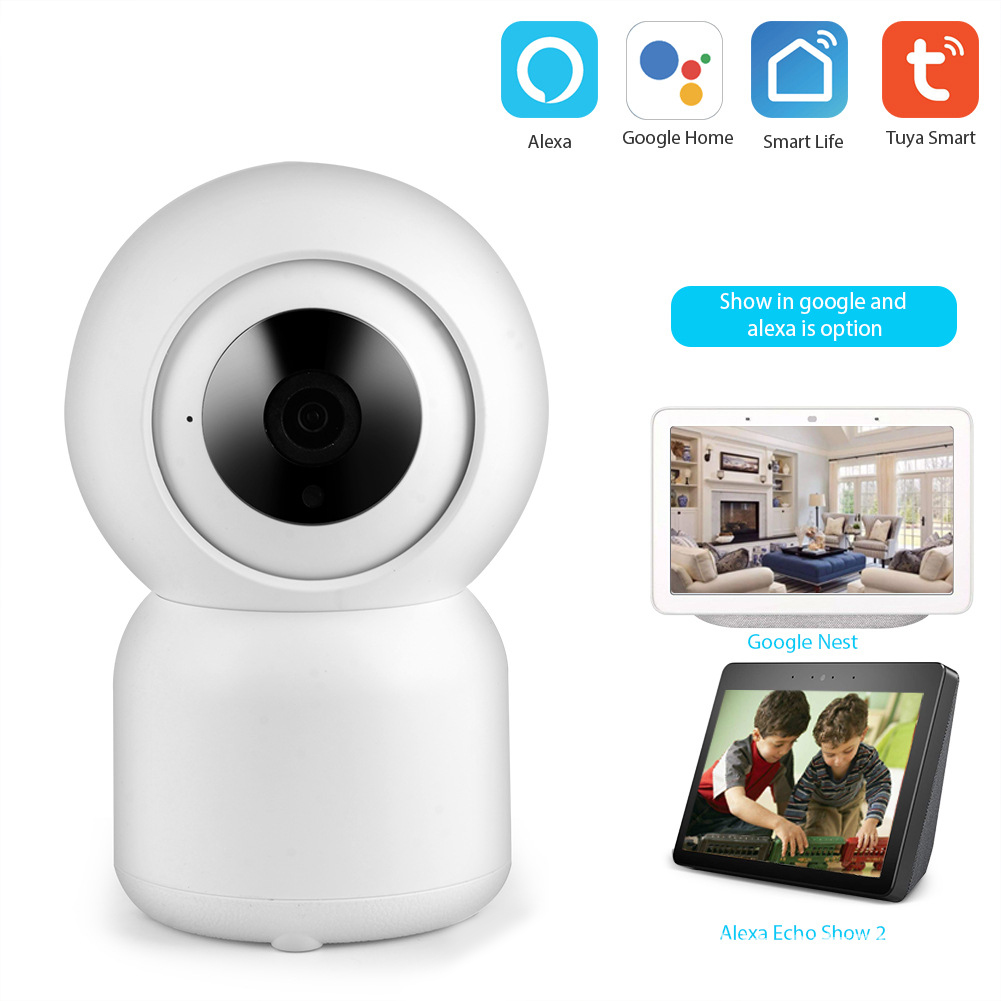 Home Use Camera Intelligent Wireless Wifi 1080P High Definition Control Monitor UK Plug