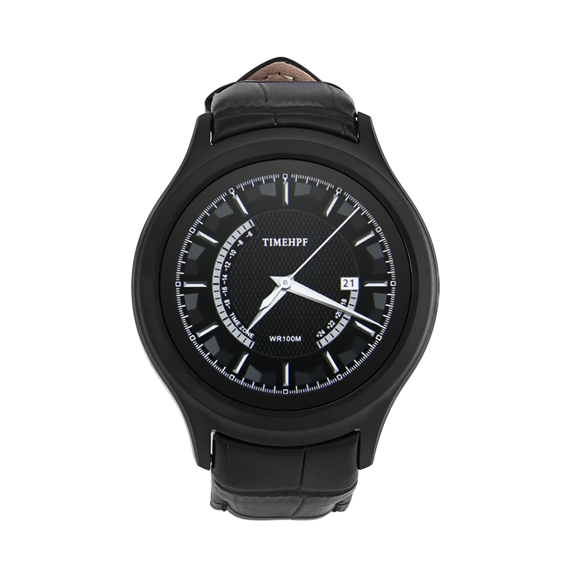 NO.1 D5+ Smart Watch (Black)