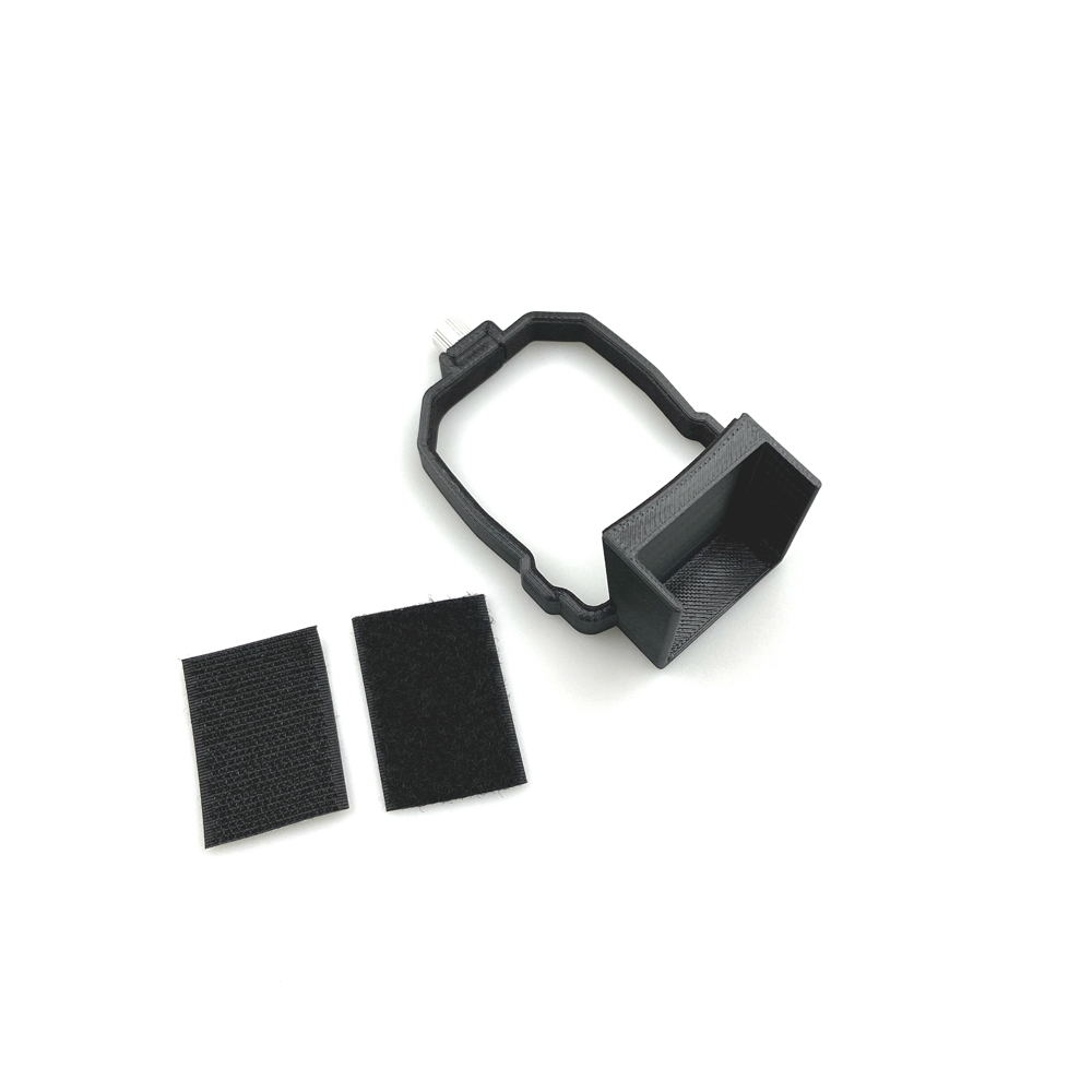 Upper Loading Box Panoramic Camera Gps Tracker Holder Bracket Mount Adapter for Mavic Air 2 Rc Drone black
