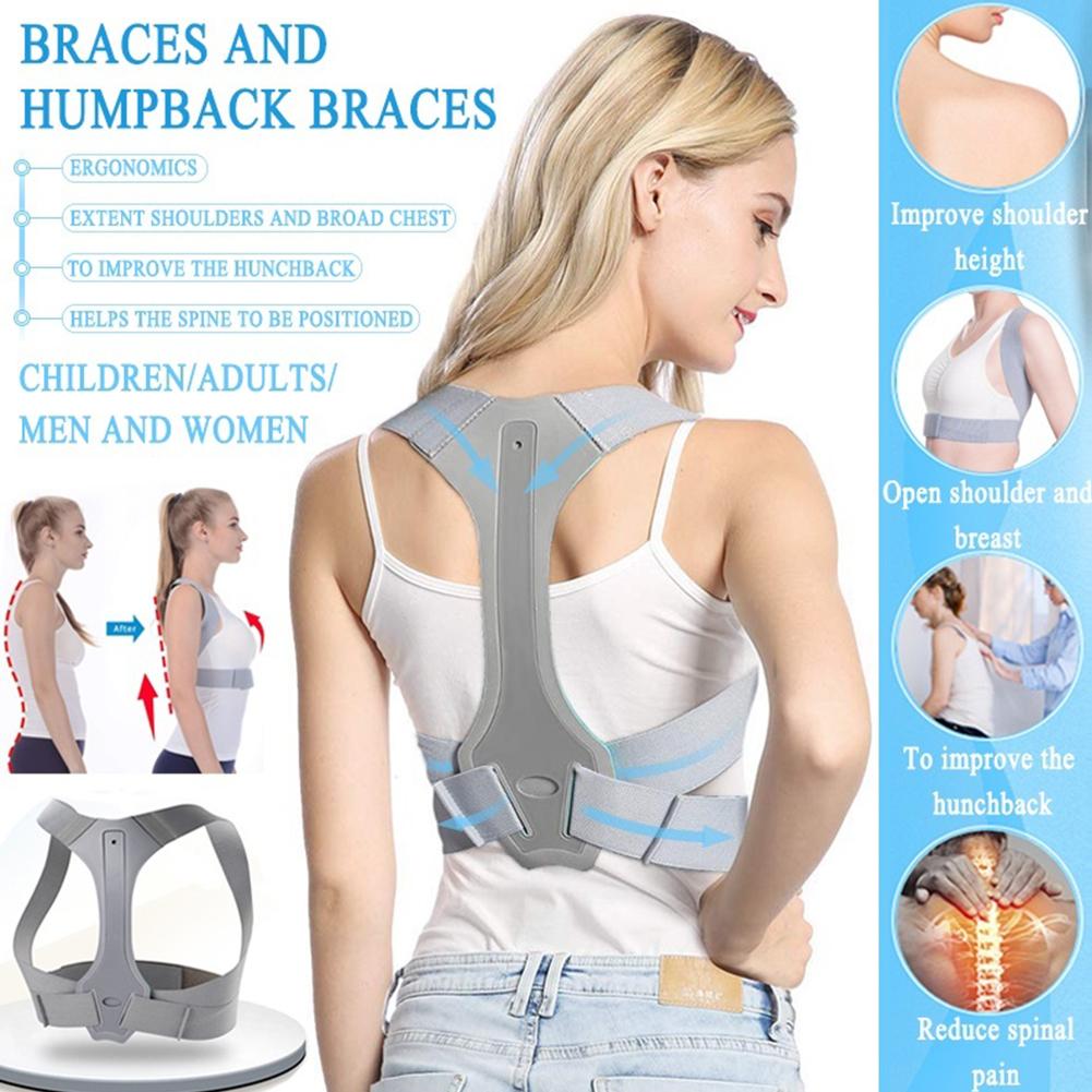 Posture Corrector Brace For Women Men Back Support Belt Correct Humpback Spinal Alignment M