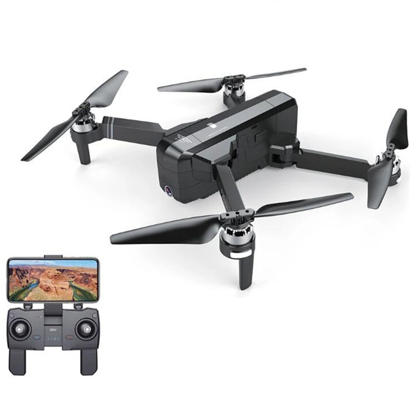 SJRC F11 RC Drone - Packing with 2 battery