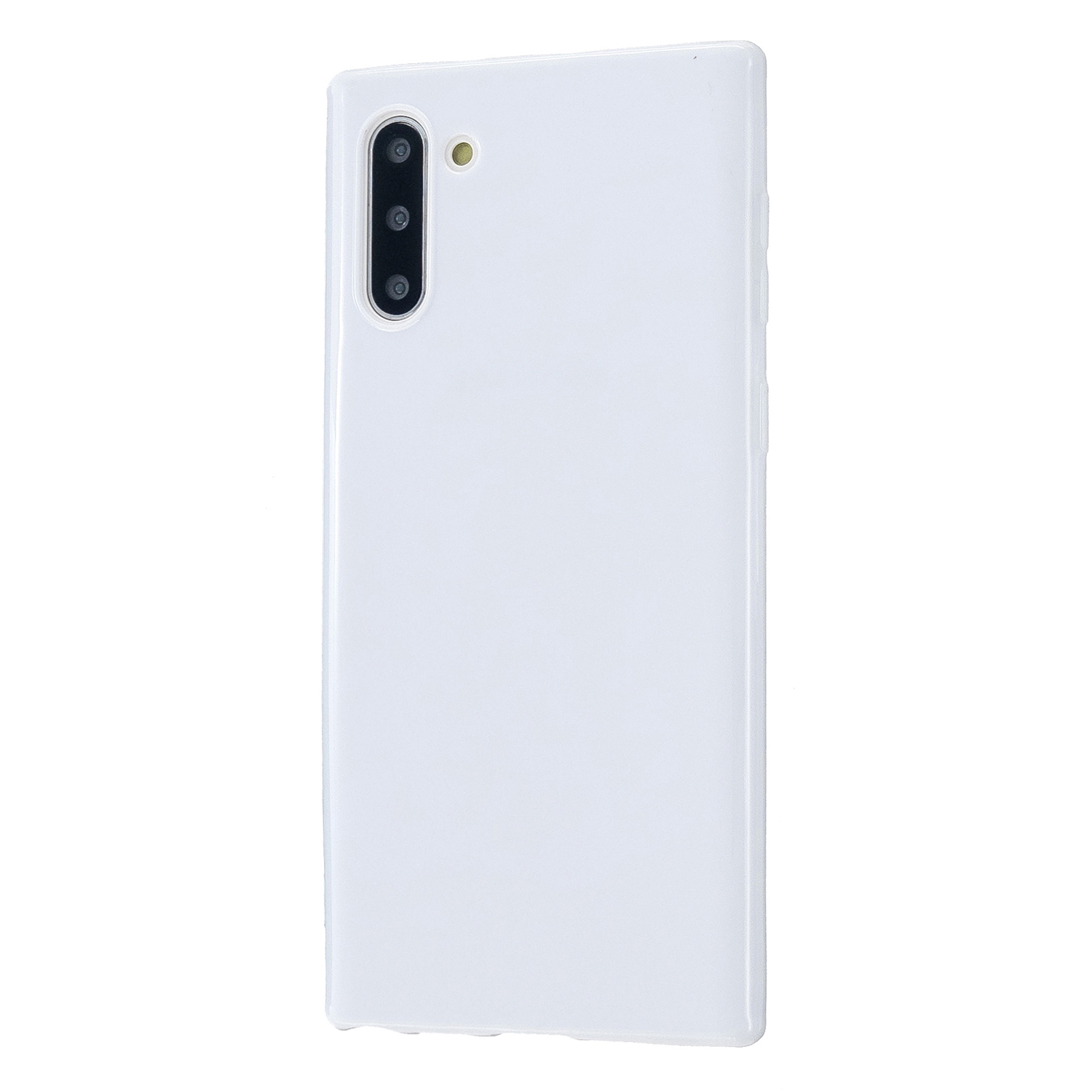 For Samsung Note 10/10 Pro Cellphone Cover TPU Phone Case Simple Profile Classic Design Shock-proof Shell Milk white
