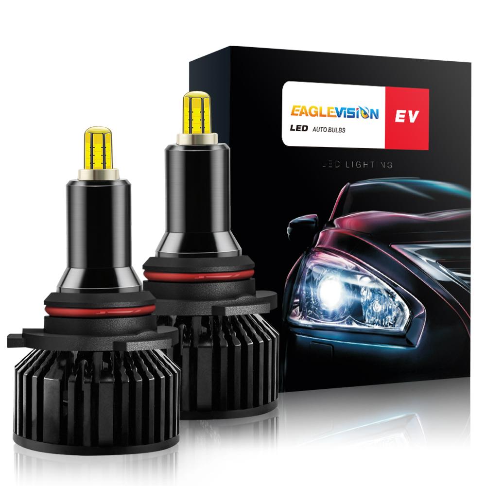 1 Pair Aluminum V8 Led Car Headlights Led Headlights Bulbs Car High Power Headlight 9005