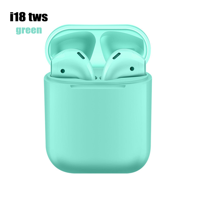i18 tws Bluetooth 5.0 Earphone green