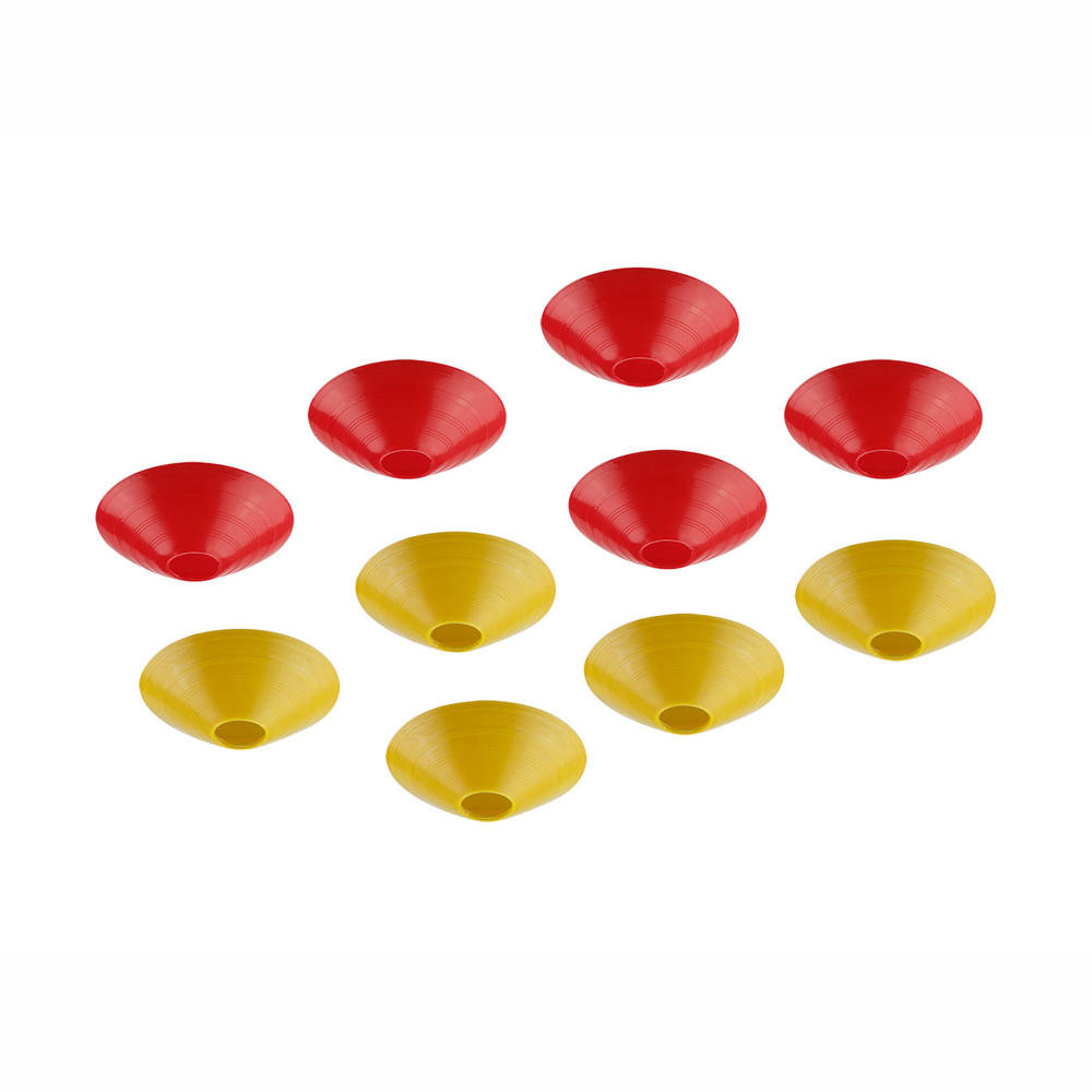 10 PCS KINGKONG/LDARC 180mm Raing Goal Track Marker for RC Drone FPV Racing Red + yellow