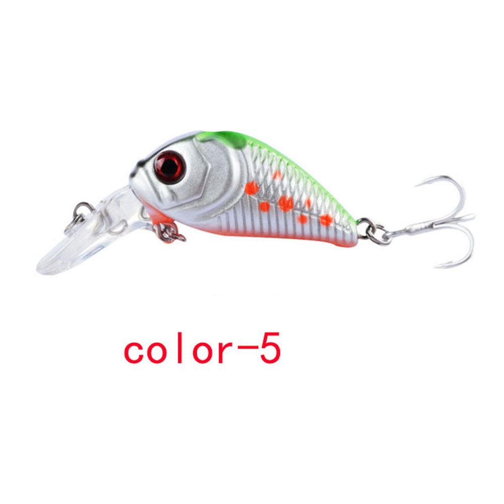 Crankbait Fishing Lure 7.3cm/8.22G Plastic Artificial Hard Bait 6# Hook Bassbaits Fishing Set Tackle color-5_7.3cm/8.22G