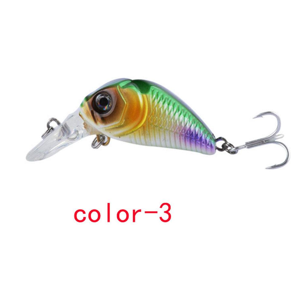 Crankbait Fishing Lure 7.3cm/8.22G Plastic Artificial Hard Bait 6# Hook Bassbaits Fishing Set Tackle color-3_7.3cm/8.22G
