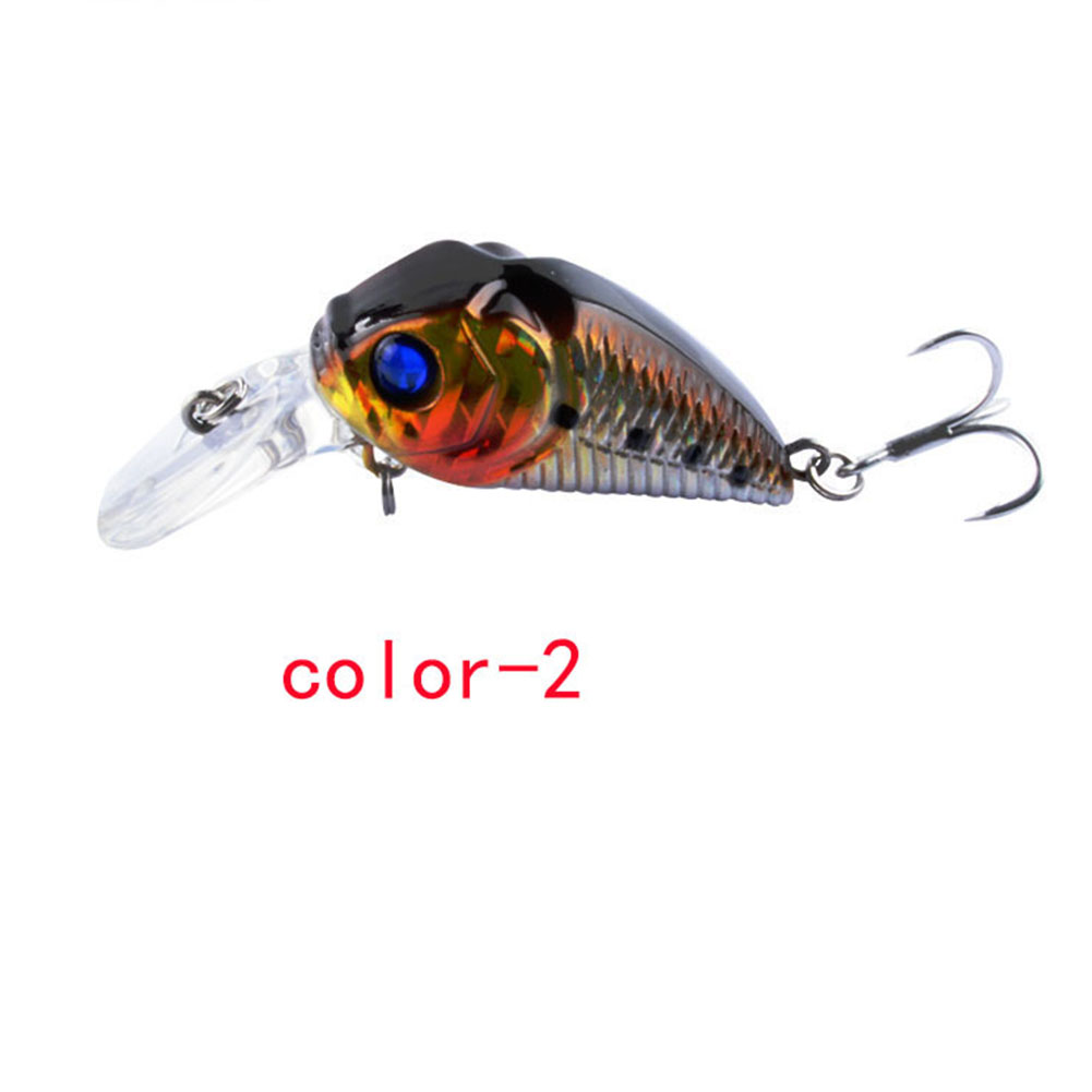 Crankbait Fishing Lure 7.3cm/8.22G Plastic Artificial Hard Bait 6# Hook Bassbaits Fishing Set Tackle color-2_7.3cm/8.22G