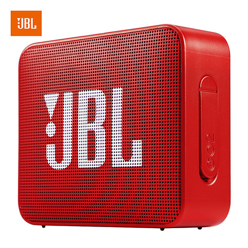 JBL GO2 Wireless Bluetooth Speaker Waterproof Outdoor Portable Car Sports Bass Sound with Mic red