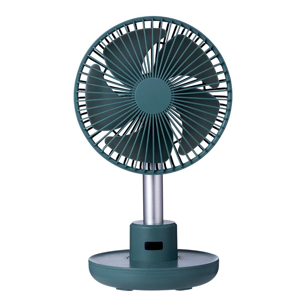 USB Desktop Fan Portable Rotation Angle Fan for Office Household Traveling blue_160*185*320mm