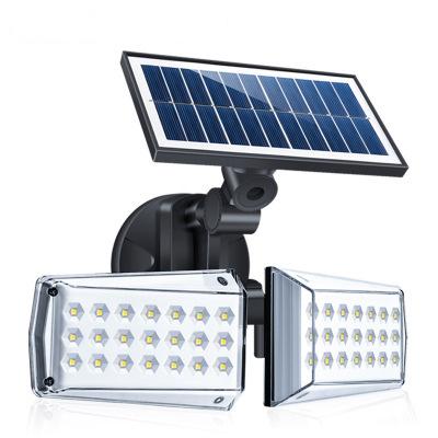 Solar Powered LED Wall Light Outdoor Motion Sensor Waterproof Street Light 42LEDs 20W  42 LEDs