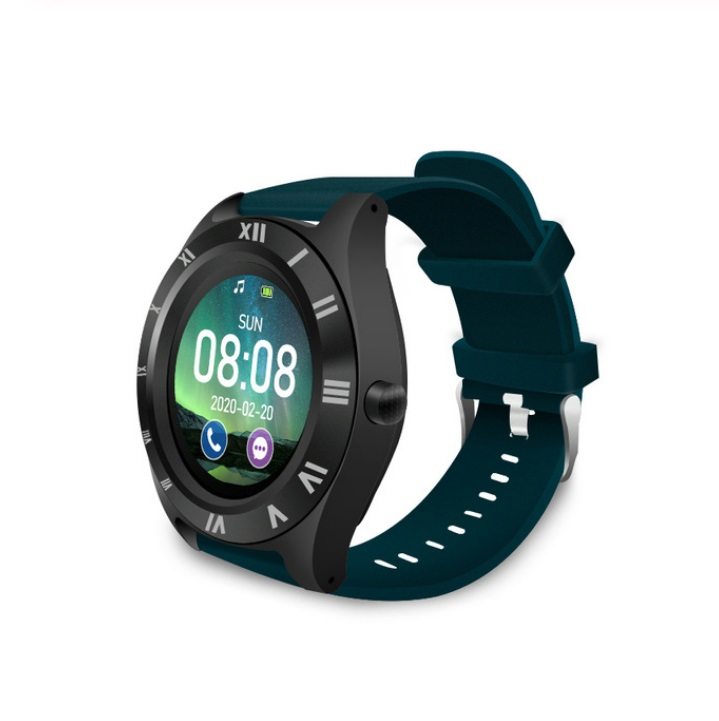 M11 Smart Watch Men and Women 2020 Sports Bluetooth Fitness Smart Watch Sim TF for Android IOS blue