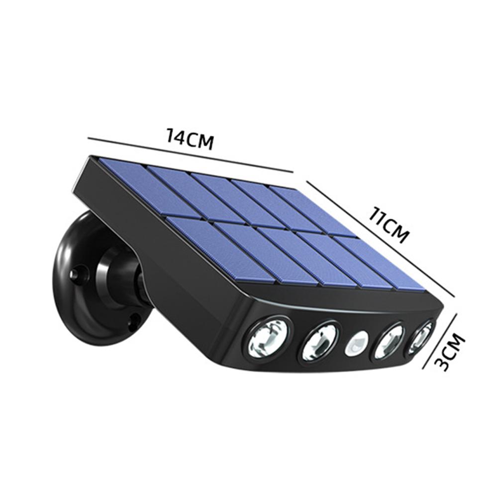 Solar Lamp Wall  Light For Outdoor Home Courtyard Lawn Garden Sensor Street Lamp