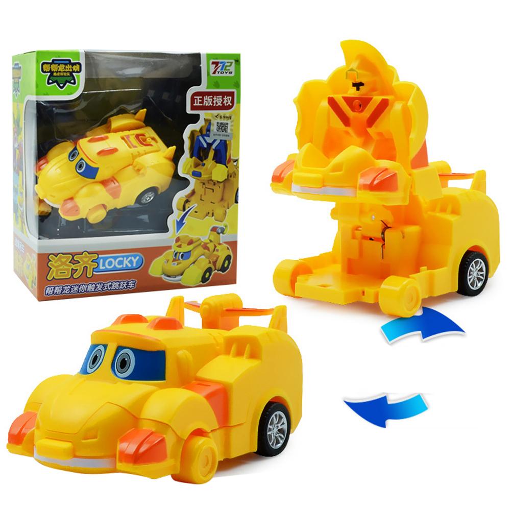 Deformation Robot Cartoon Mini Transformation Toys for Kids Boys Girls Lozzi