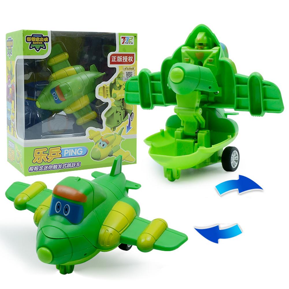 Deformation Robot Cartoon Mini Transformation Toys for Kids Boys Girls Le Ping