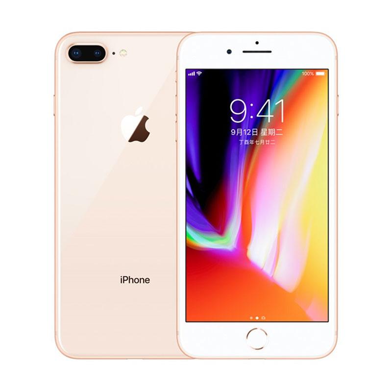 Apple IPhone 8 Plus 12MP+7MP Camera 5.5-Inch Screen Hexa Core Fingerprint Smartphone Gold_64GB