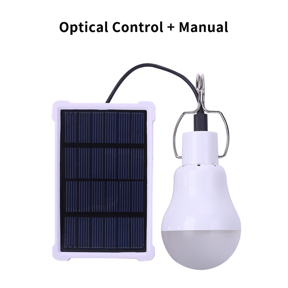 Light-operated Camping Lamps Solar Energy Charging Portable LED Light for Camping Emergency Courtyard KGS-1200