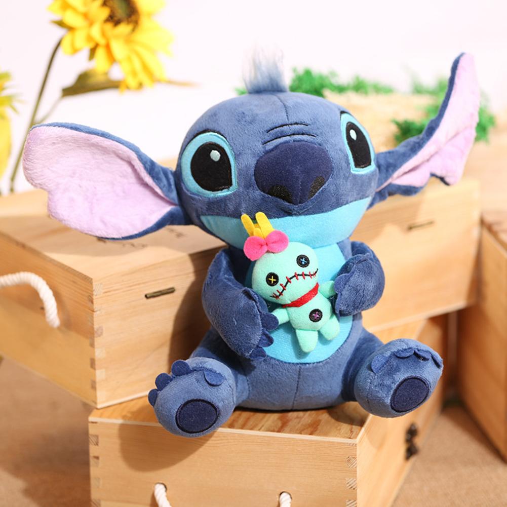 Cute Lilo&Stitch Plush Doll Kids Soft Toy Xmas Present 23cm