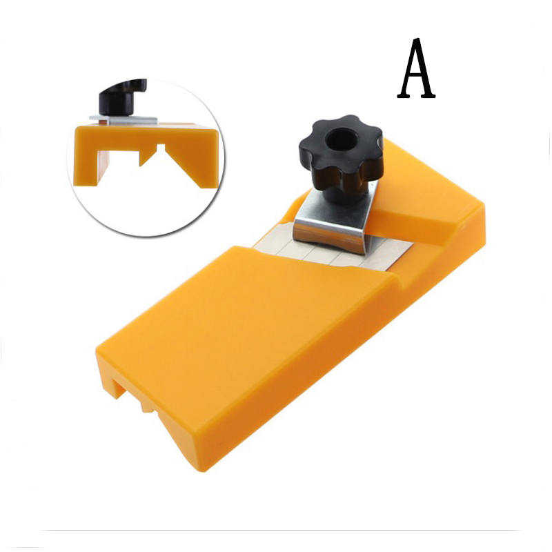 Gypsum Board Hand Plane Plasterboard Planing Tool Flat Square Drywall Side Chamfer Woodworking A