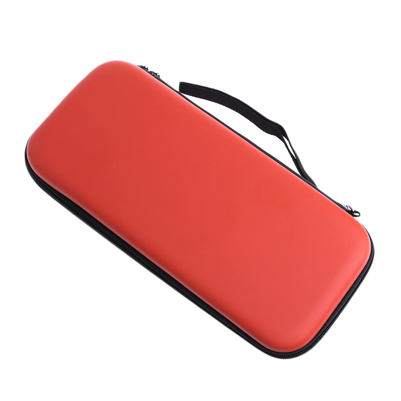 Portable Hard Shell Carrying Case Protective Storage Bag Cover for Nintend Switch Red