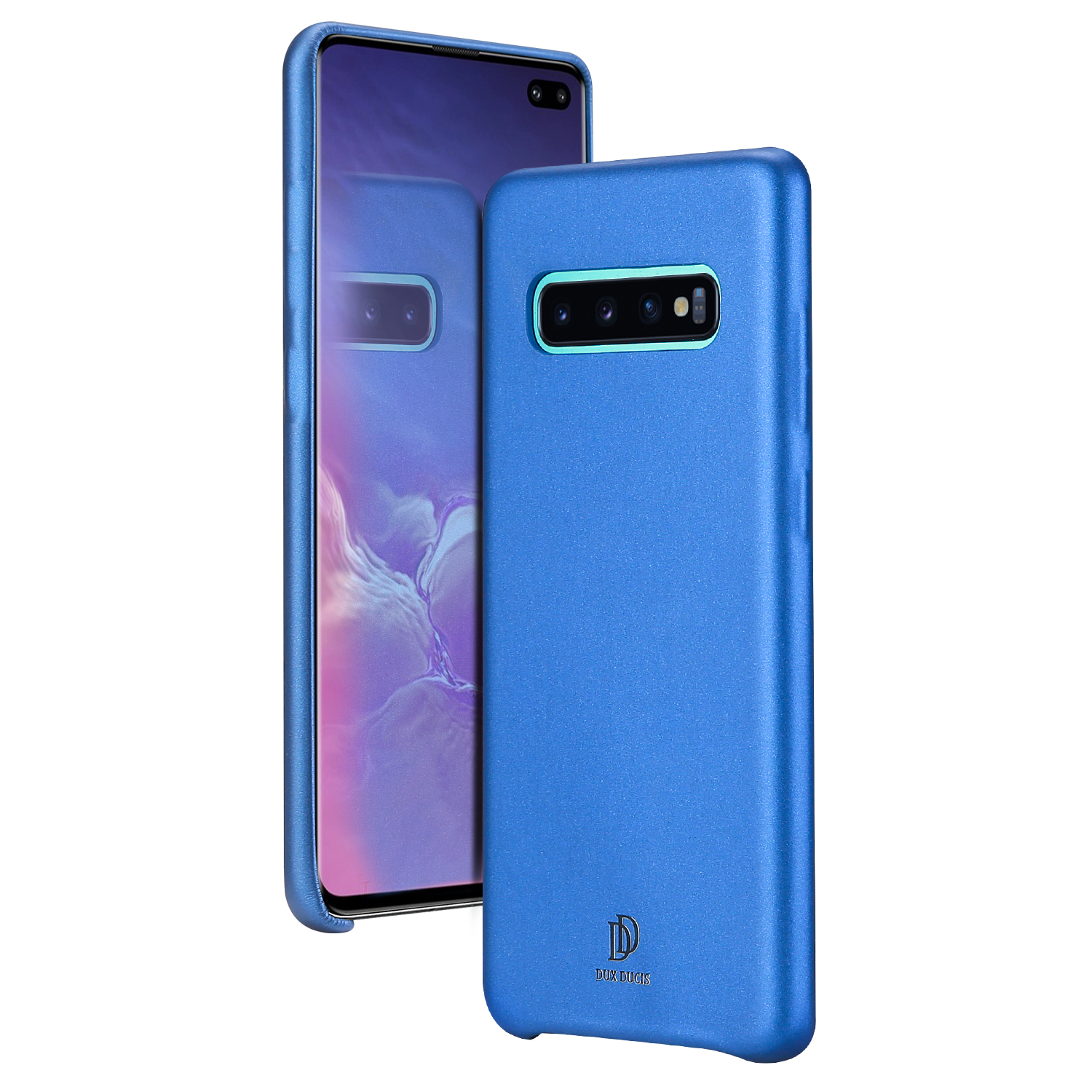 DUX DUCIS For Samsung S10 Plus PU Leather Soft Case Shockproof Full Protection Phone Back Cover