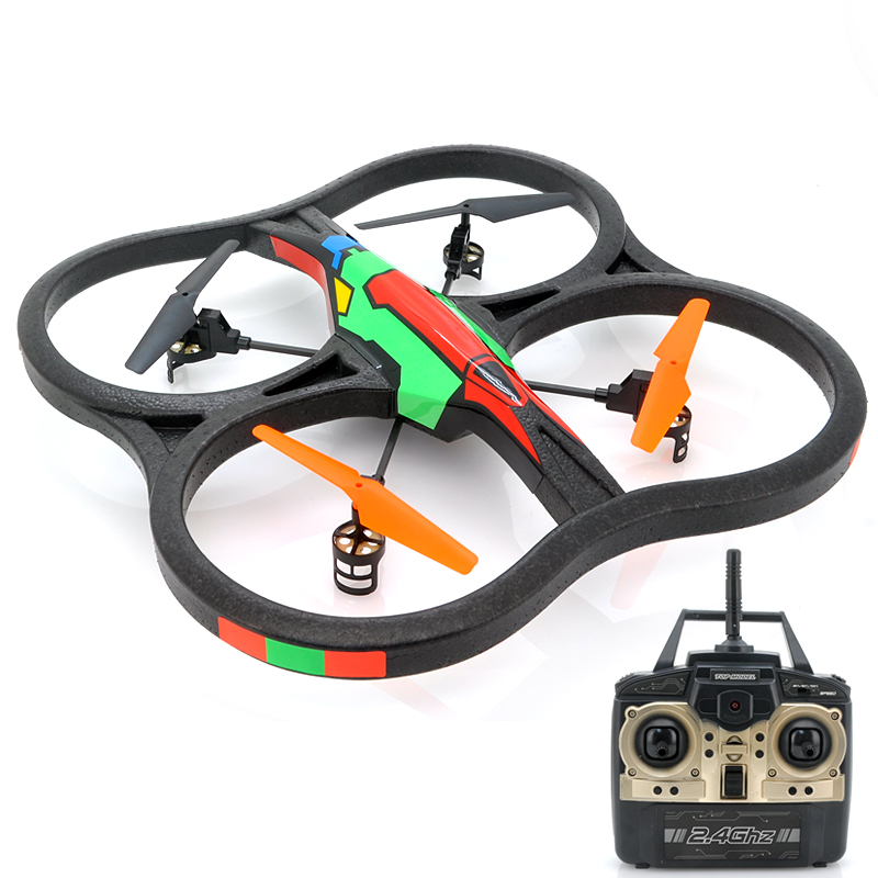 Big RC Quadcopter w/ 6 Axis Gyro - Intruder