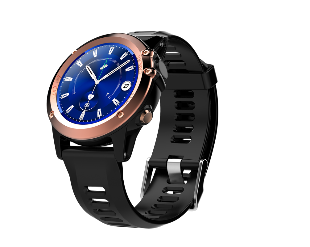 C1Android 3G Smart Watch-Gold