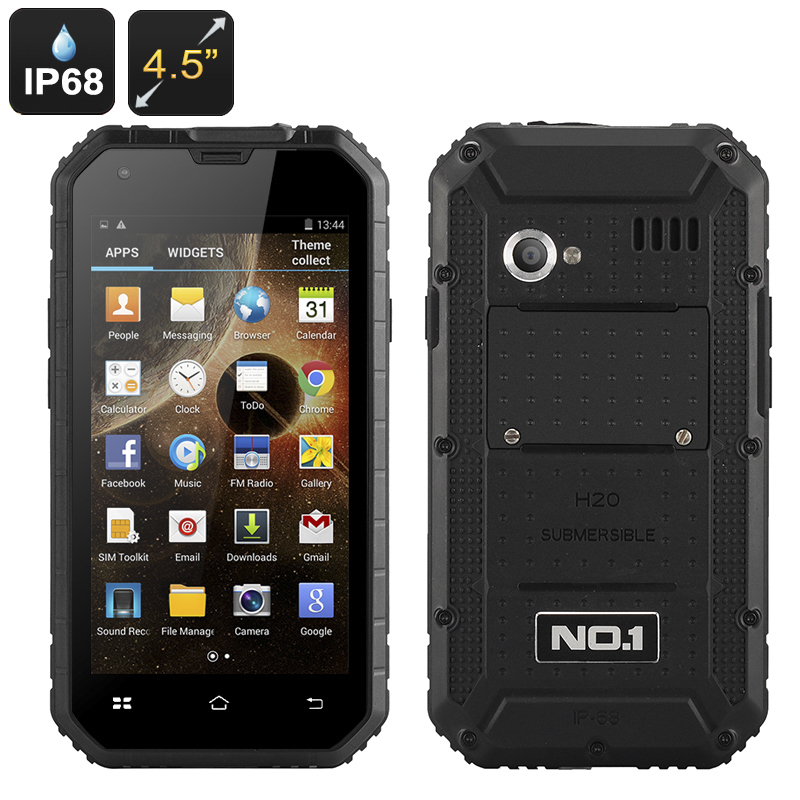 No.1 M2 Rugged Smartphone (Black)