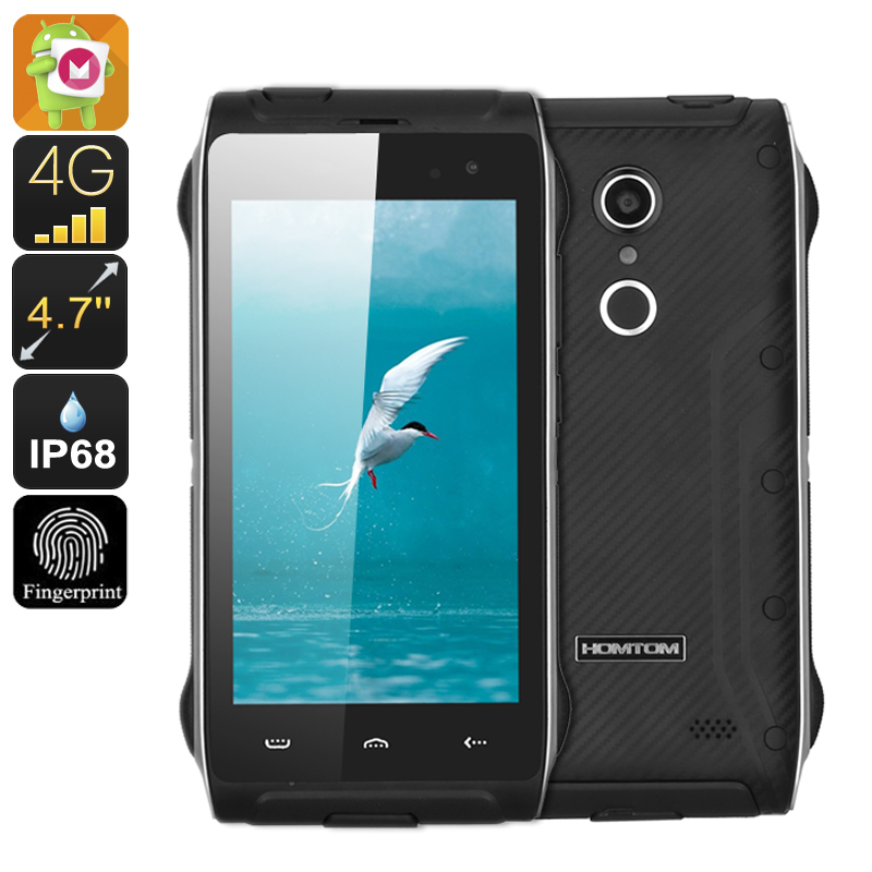 HOMTOM HT20 Waterproof Smartphone (Black)