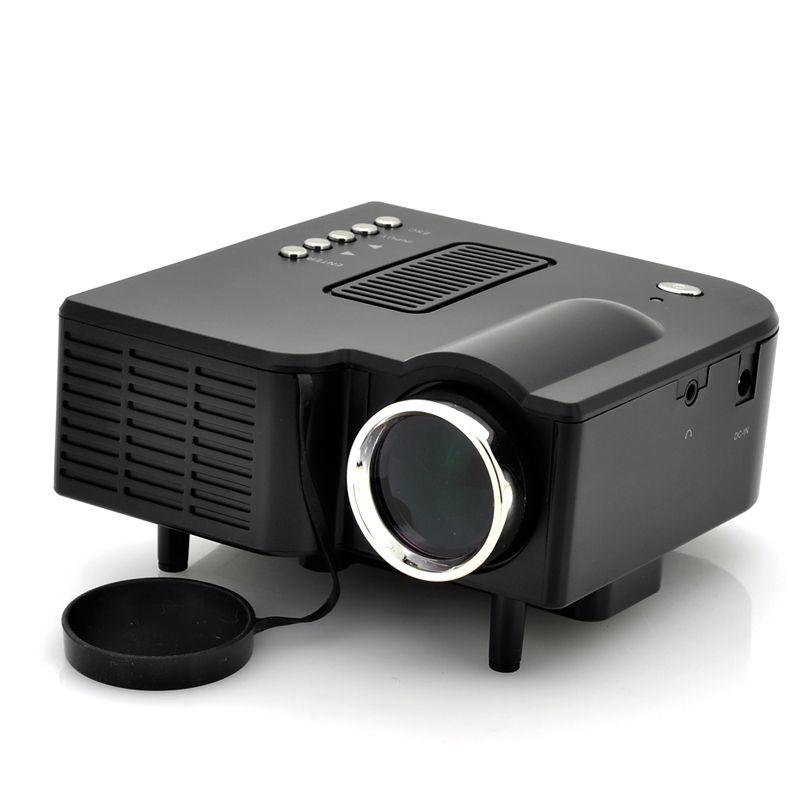 Projectors brand new mini hd led projector with lcd for Hd projector small