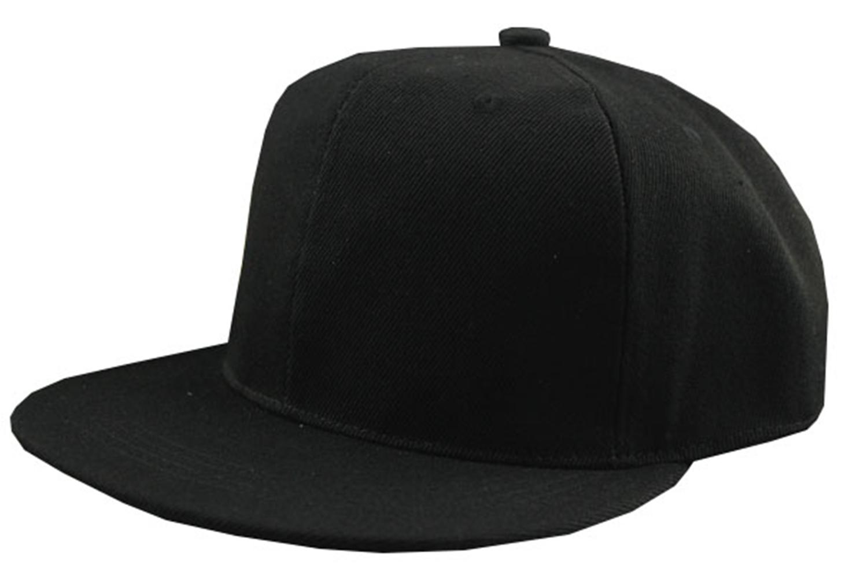 [EU Direct] Blank Plain Solid Color Adjustable Snapback Hats Caps Unisex Hip-Hop Baseball Cap Hat
