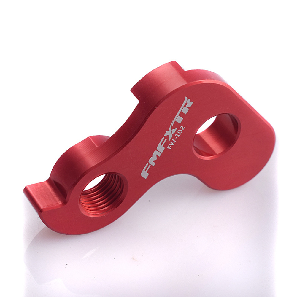 Bicycle Single Speed Refit Transmission Tail Hook Folding Bicycle 412 Three-speed Extraposition Hook red