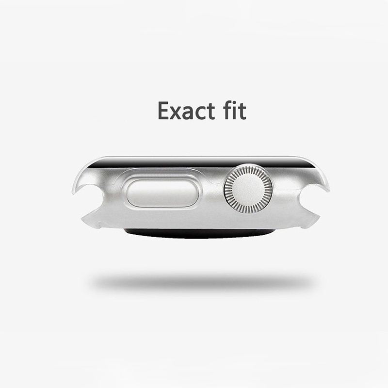 Transparent Screen Protector Film Accessories for iWatch - 38mm/1pcs